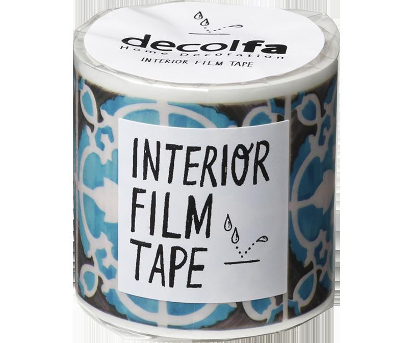 decolfa インテリア フィルムテープ50mm タイル/ブロンズ