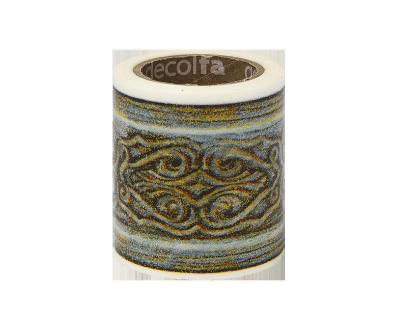decolfa インテリアマスキングテープ50mm フレーム/グリーン