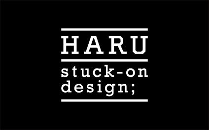 「HARU stuck-on design;」ブランドサイト