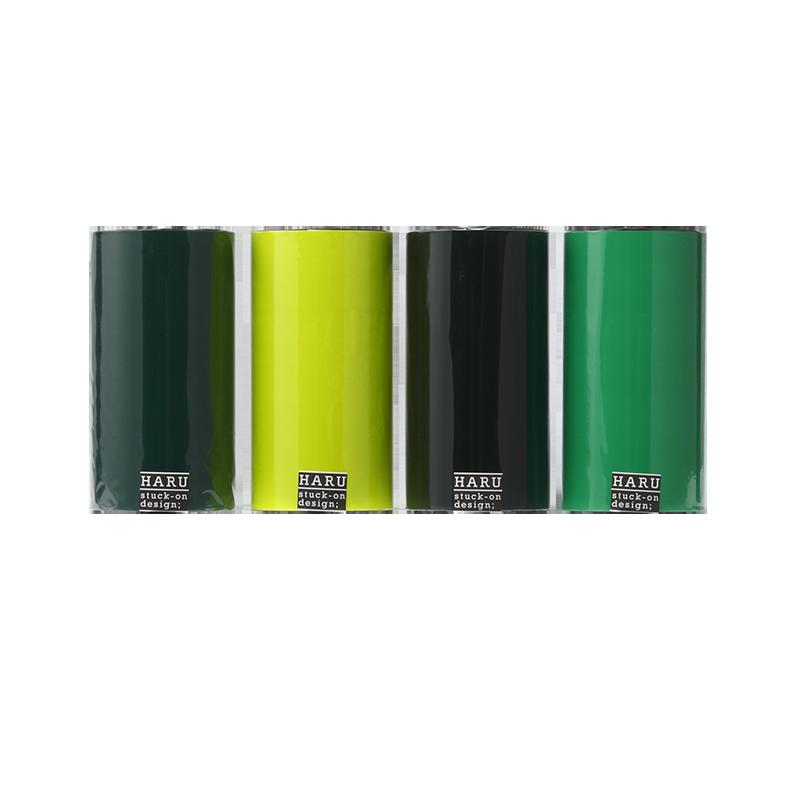 HARU stuck-on design; deep forest PET tape 150
