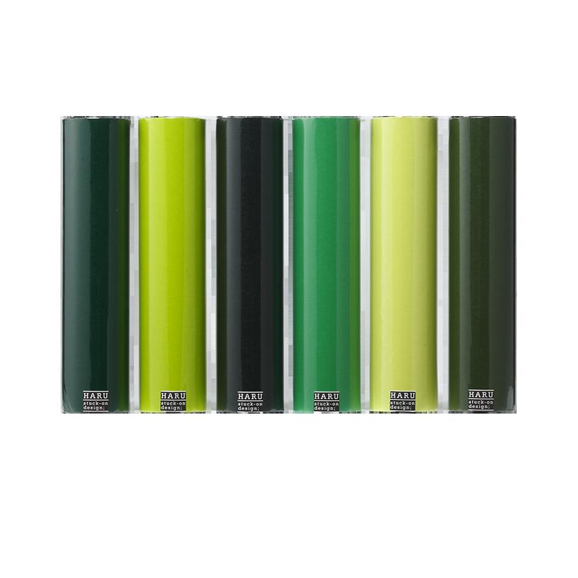 HARU stuck-on design; deep forest washi tape 300