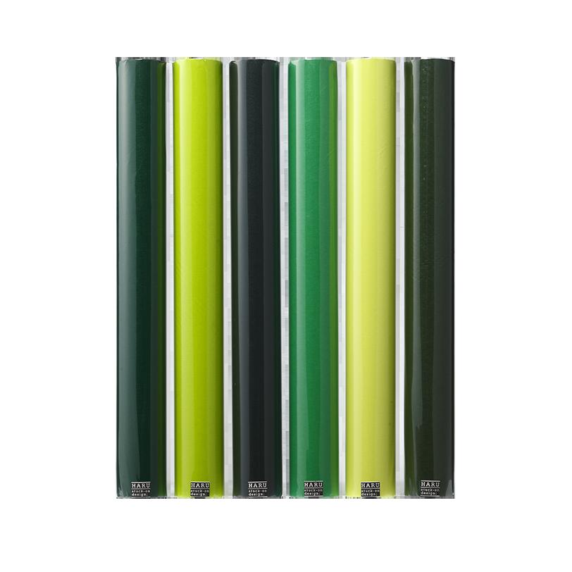 HARU stuck-on design; deep forest washi tape 600