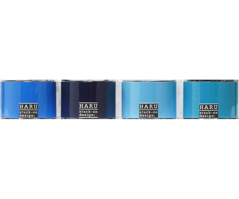 HARU stuck-on design; endless ocean PET tape 50