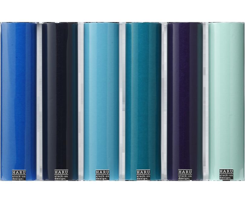 HARU stuck-on design; endless ocean washi tape 300
