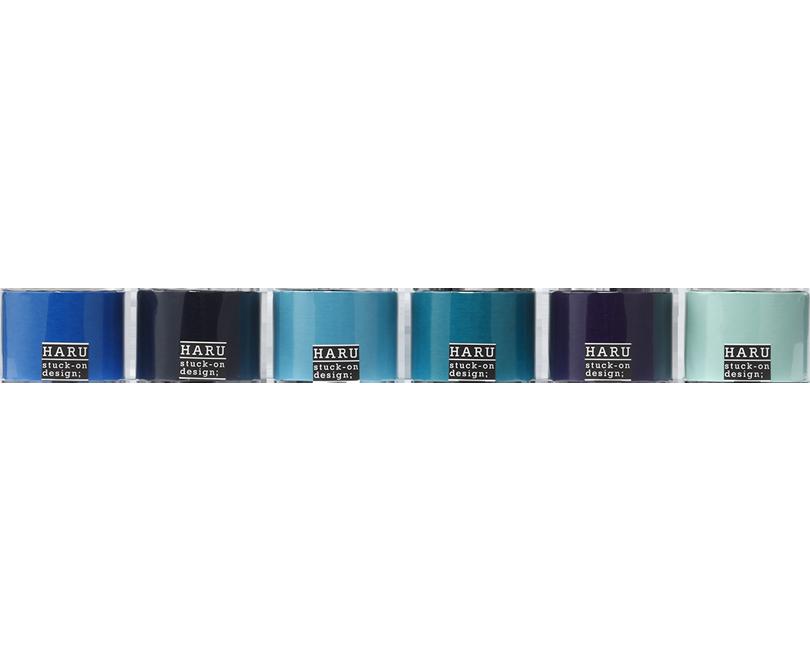 HARU stuck-on design; endless ocean washi tape 50