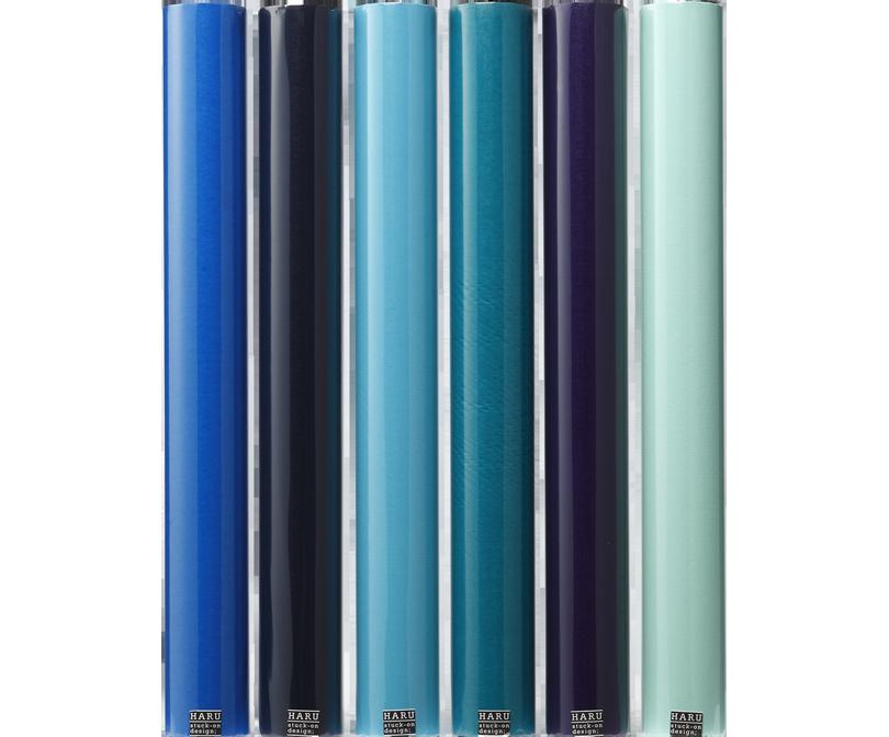 HARU stuck-on design; endless ocean washi tape 600