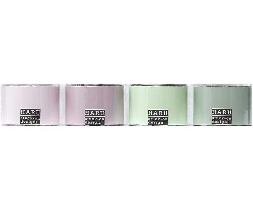 HARU stuck-on design; dry fiowers PET tape 50