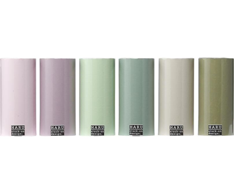 HARU stuck-on design; dry fiowers washi tape 150