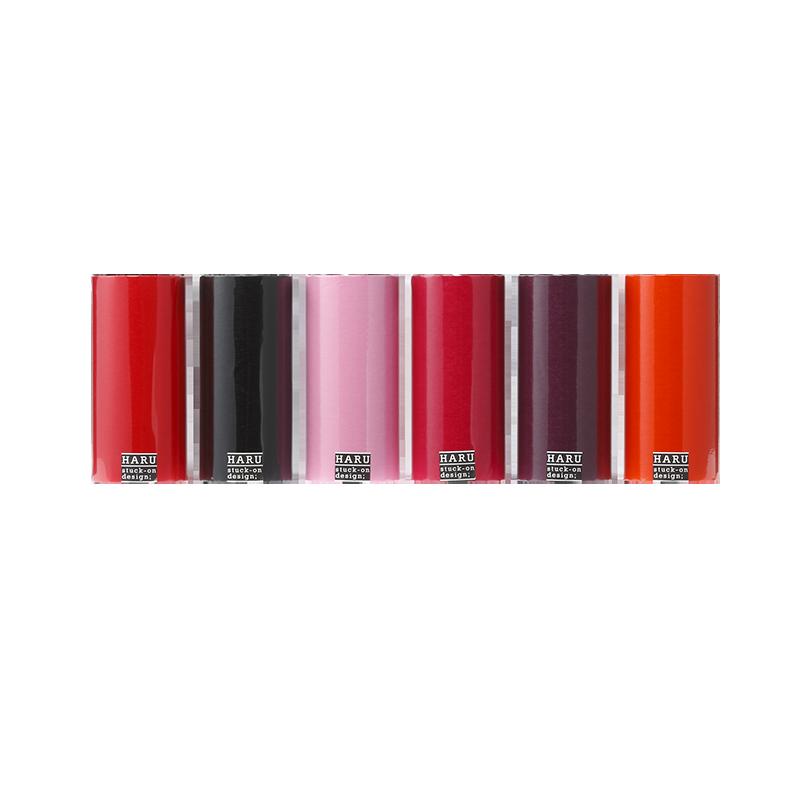 HARU stuck-on design; lip stic Washi 150