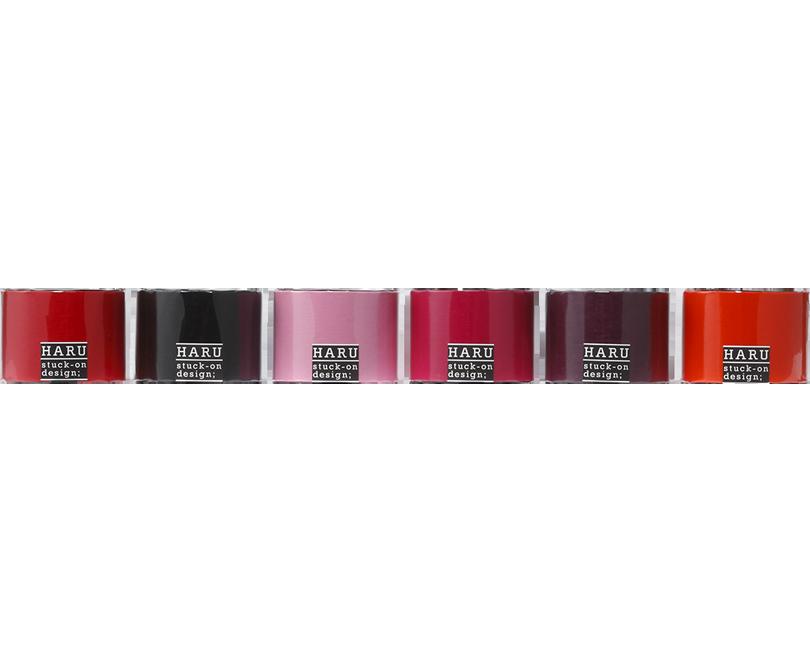 HARU stuck-on design; lip stic Washi 50