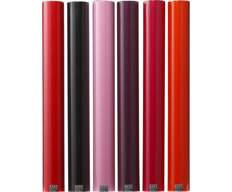 HARU stuck-on design; lip stic Washi 600
