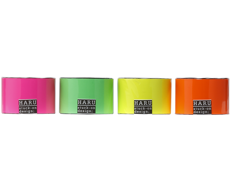 HARU stuck-on design; neon candies PET tape 50