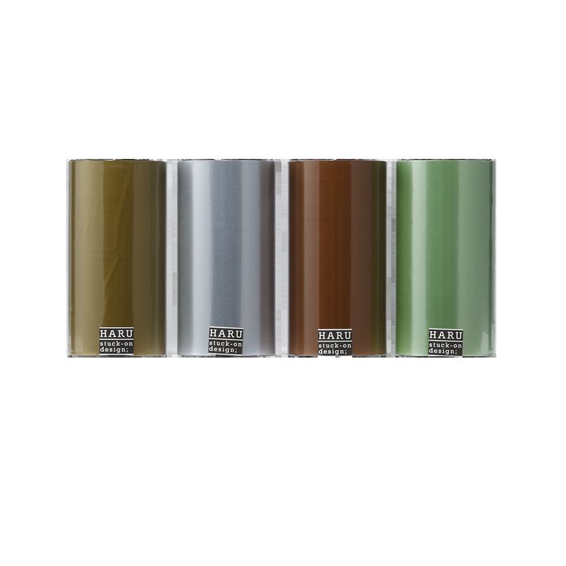 HARU stuck-on design; royal pearl washi tape PET tape 150