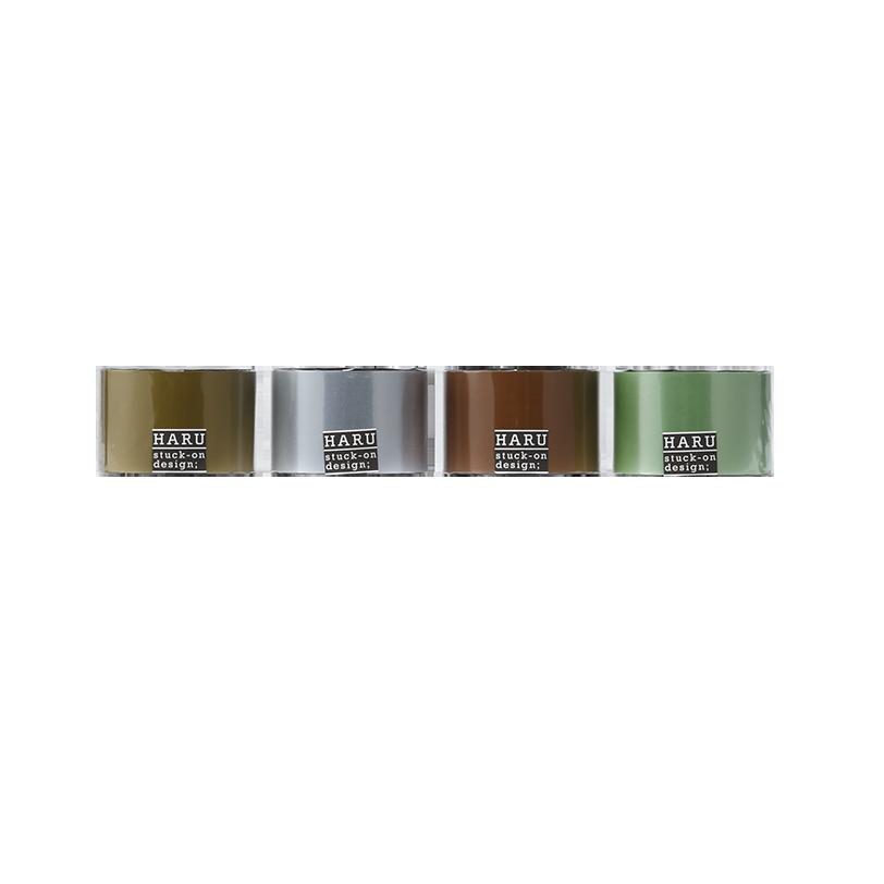 HARU stuck-on design; royal pearl washi tape PET tape 50
