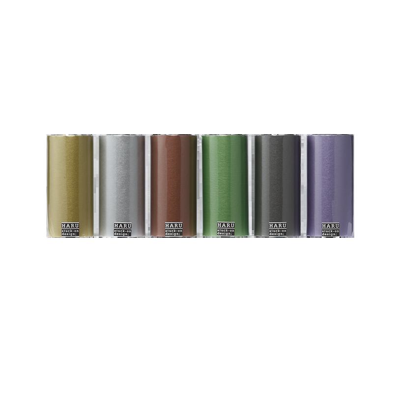 HARU stuck-on design; royal pearl washi tape 150