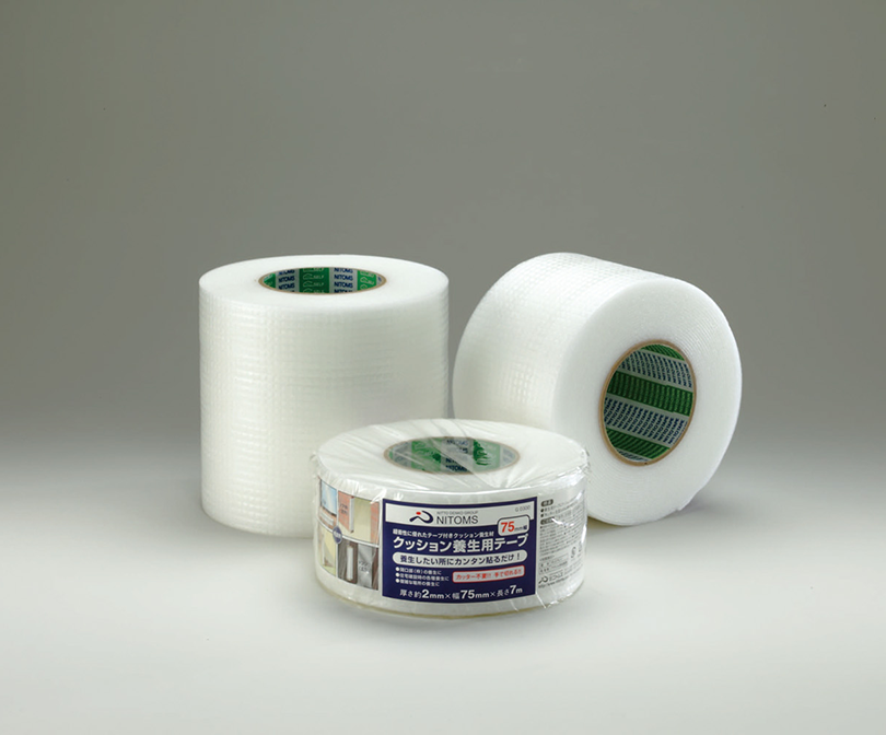 Cushioned Adhesive Tape for Indoor and Curing Applications